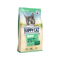 Happy Cat Perfect Mix Adult Gevogelte, Lam & Vis