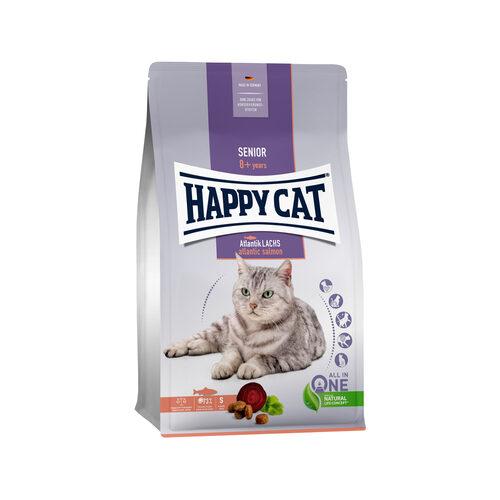 Happy Cat Senior Kattenvoer - Zalm