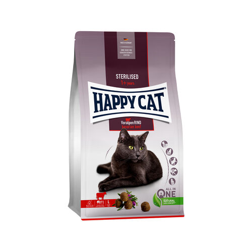 Happy Cat Sterilised Kattenvoer - Rund