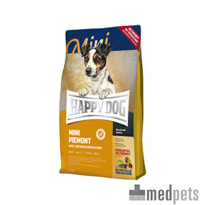happy dog super premium mini piemonte hunde. Black Bedroom Furniture Sets. Home Design Ideas