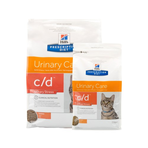 Hill's c/d Urinary Care - Urinary Stress - Prescription Diet - Feline