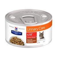 Hill's c/d Urinary Care - Urinary Stress - Prescription Diet - Feline - Mijoté pour Chat