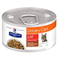 Hill's c/d Urinary Stress Stew - Prescription Diet - Feline