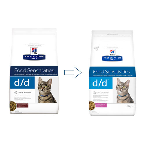 Hill's d/d Food Sensitivities - Prescription Diet - Feline