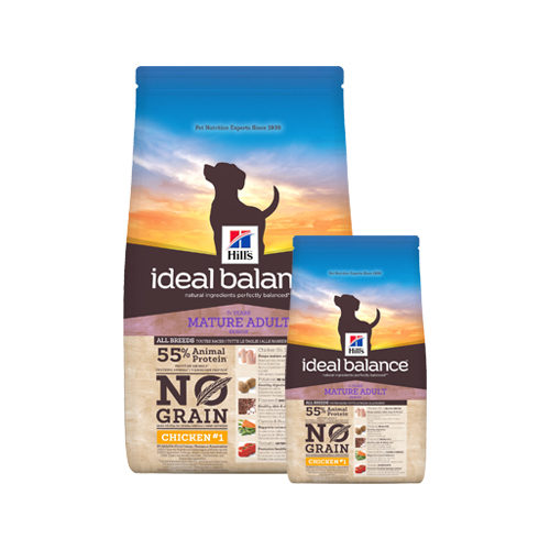 Hill's Ideal Balance - Canine Mature Adult No Grain - Chicken