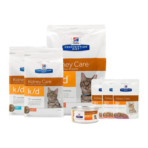 Hill's k/d - Kidney Care - Prescription Diet - Feline