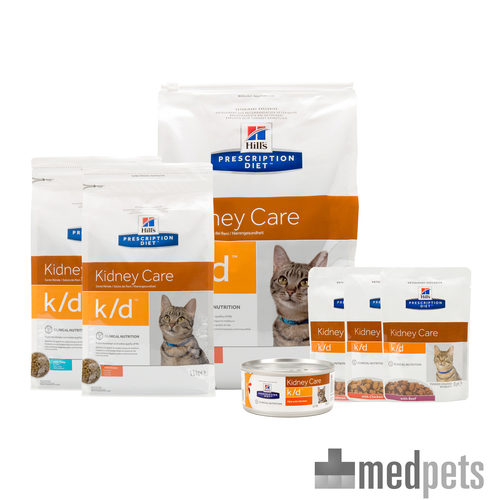 Product afbeelding van Hill's k/d Kidney Care - Prescription Diet - Feline