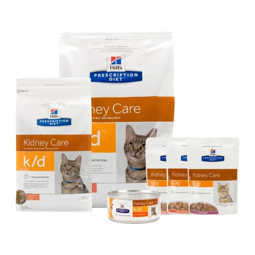 Hill's k/d Kidney Care - Prescription Diet - Feline