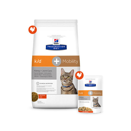 Hill's k/d + Mobility - Prescription Diet - Feline