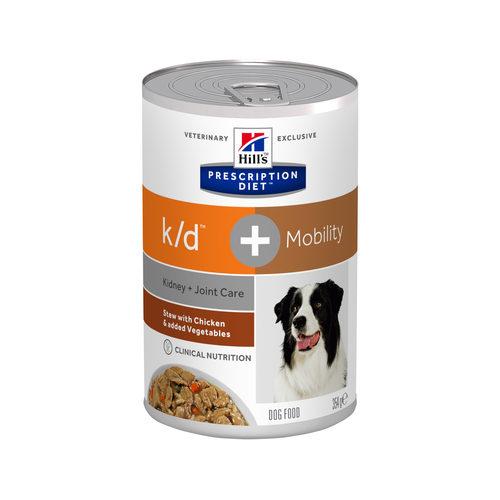 Hill's k/d + Mobility Stoofpotje - Prescription Diet - Canine