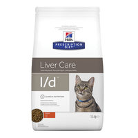 Hill's l/d - Liver Care -Prescription Diet - Feline