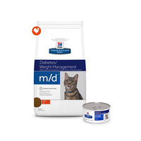 Hill's m/d - Glucose / Weight Management - Prescription Diet - Feline