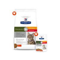 Hill's Metabolic + Urinary Stress - Prescription Diet - Feline