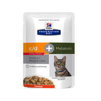 Hill's Prescription Diet - Feline - c/d Urinary Stress + Metabolic - Nassfutter