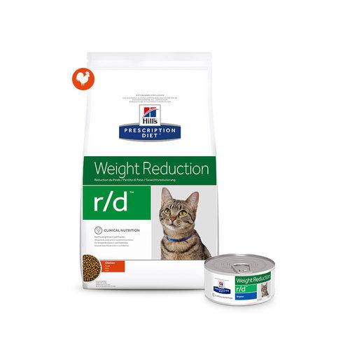 Hill's r/d - Weight Reduction - Prescription Diet - Feline