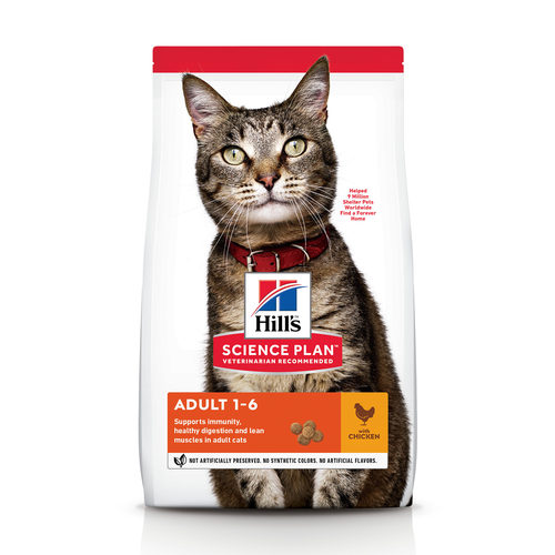 Hill's Science Plan - Feline Adult - Chicken/Poultry