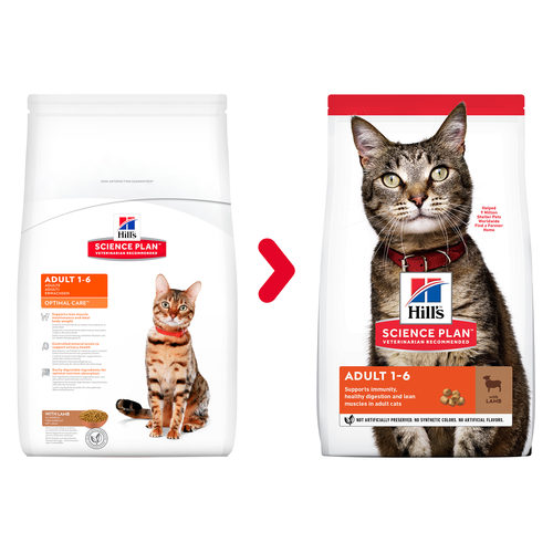 Hill's Science Plan - Feline Adult - Lamm