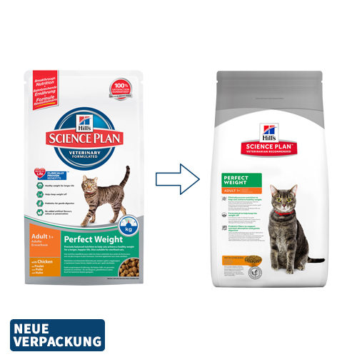 Hill's Science Plan - Feline Adult - Perfect Weight