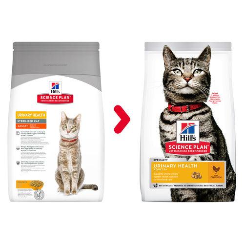 Hill's Science Plan - Feline Adult - Urinary Health Sterilised - Chicken