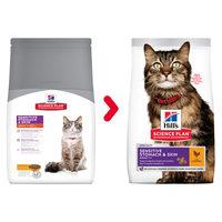 Hill's Science Plan - Feline Adult Sensitive Stomach & Skin