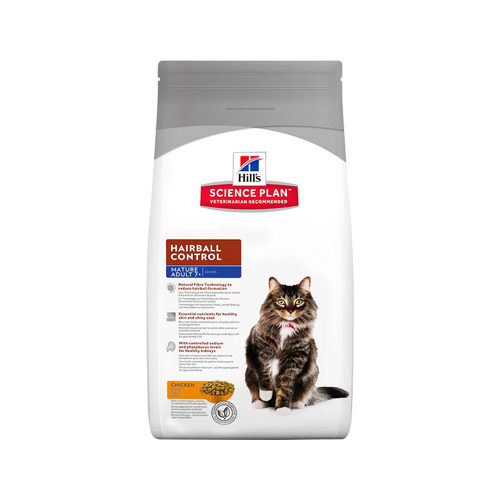 Hill's Science Plan - Feline Mature Adult - Hairball Control