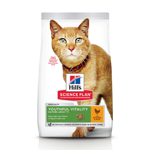 Hill's Science Plan - Feline Mature Youthful Vitality