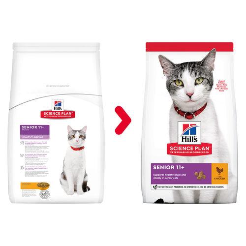 Hill's Science Plan - Feline Senior - Healthy Ageing - Chicken