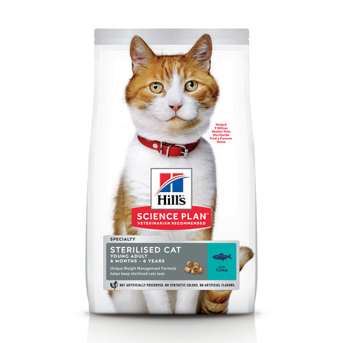 Hill's Science Plan - Feline Young Adult - Sterilised - Tuna