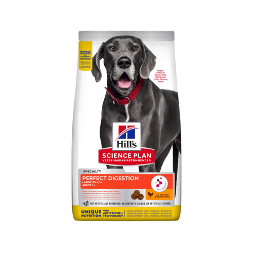 Hill's Science Plan Adult Perfect Digestion Large Breed Hondenvoer