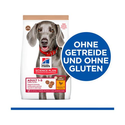 Hill's Science Plan No Grain Hundefutter Huhn - Adult Large