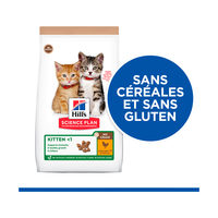 Hill's Science Plan No Grain Alimentation Poulet - Chaton