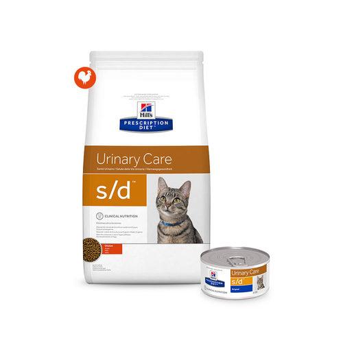Hill's s/d - Urinary Care - Prescription Diet - Feline