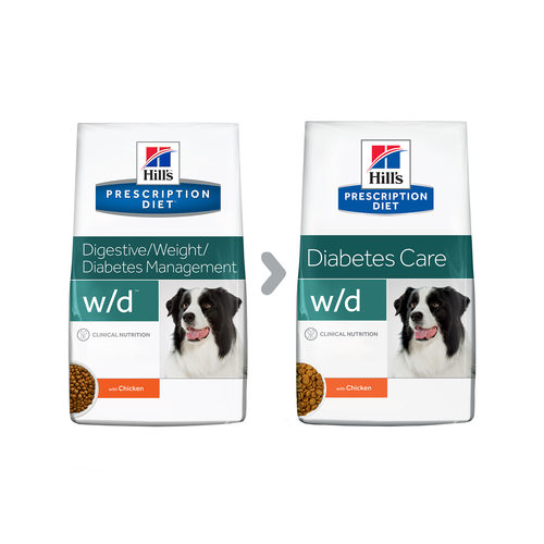 Hill's Prescription Diet w/d Diabetes Care - Canine