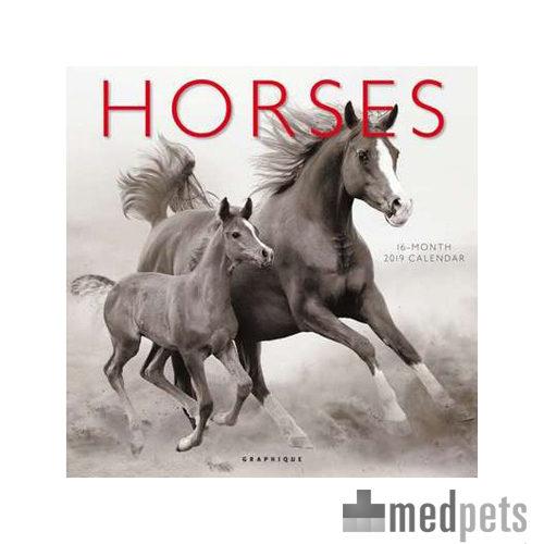 Product afbeelding van Horses Kalender 2019