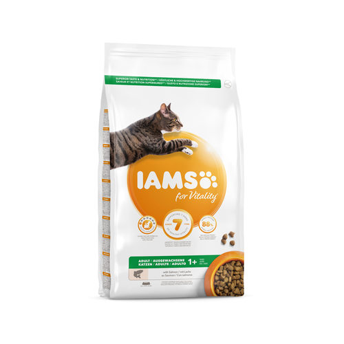 IAMS for Vitality Adult Cat Salmon