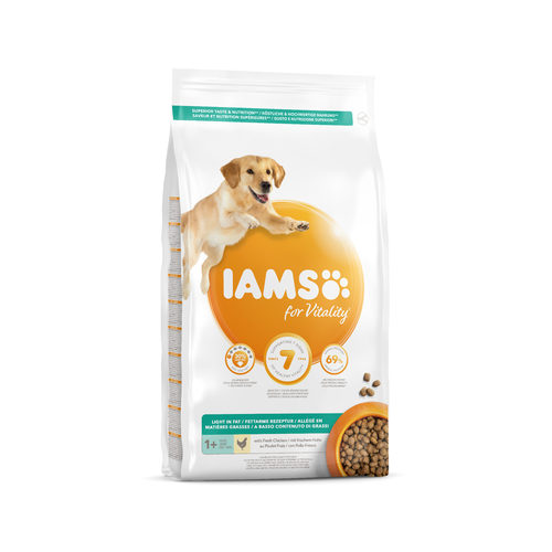 IAMS for Vitality Dog Light in Fat