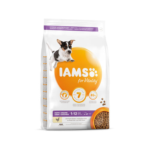IAMS for Vitality Dog Puppy & Junior - Small & Medium