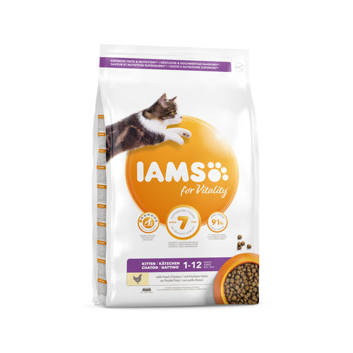 IAMS for Vitality Kitten & Junior