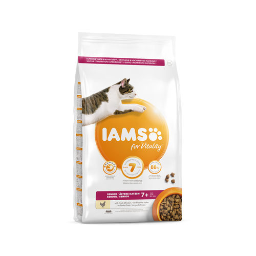 IAMS for Vitality Cat Mature & Senior Chicken