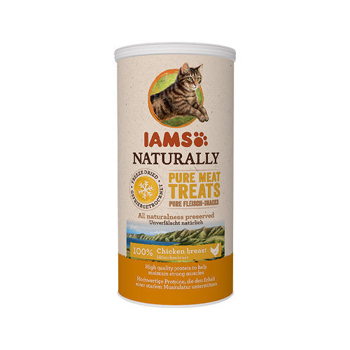 IAMS Naturally Freeze Dried Treats - Chicken breast