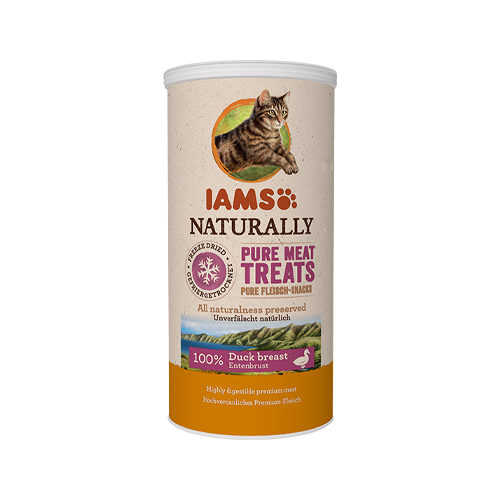 IAMS Naturally Freeze Dried Treats - Duck breast