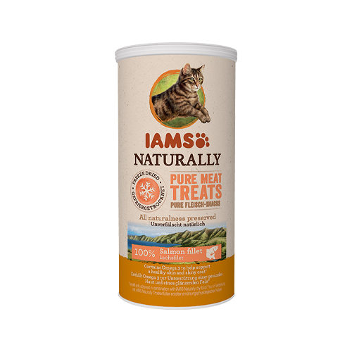 IAMS Naturally Freeze Dried Treats - Salmon Fillet