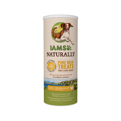 IAMS Naturally Freeze Dried Treats Dog - Chicken breast