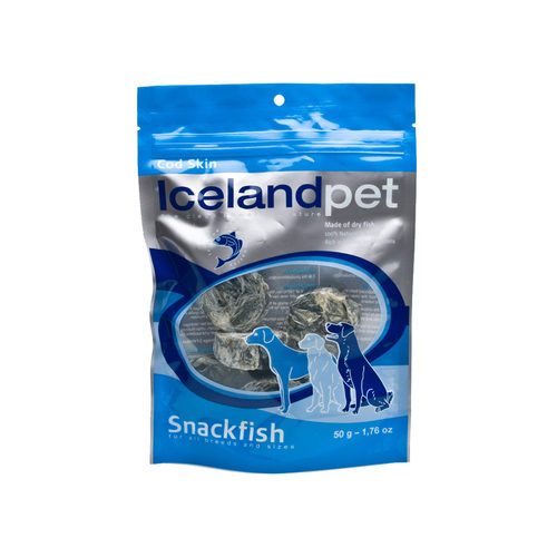 Iceland Pet Dog Dried Fish Skin Cod