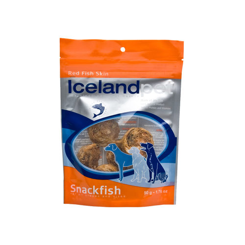 Iceland Pet Dog Dried Red Fish Skin