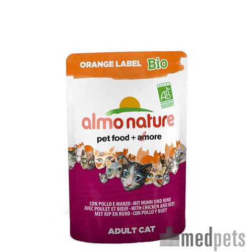 Almo Nature - Orange Label - Cat food BIO