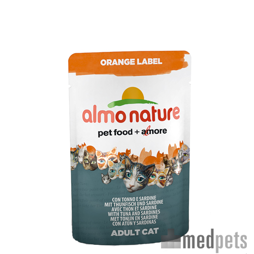 Almo Nature - Orange Label - Cat food
