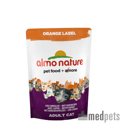 Almo Nature - Orange Label - Cat food Brokken