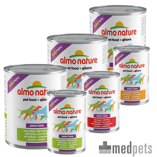 Almo Nature - Dog - Daily Menu Paté - Hundefutter