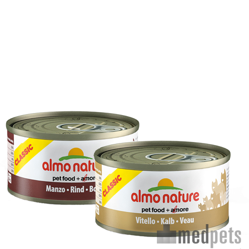 Almo Nature - Classic 70g Rund - Cat food